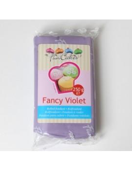 Pâte à sucre fancy violet...