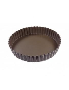 Tourtière ronde cannelée 22 cm
