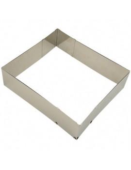 Moule aluminium rectangulaire de 27,5 cm X 37,5 cm