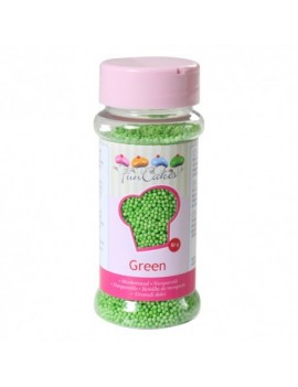 Micro billes en sucre verte