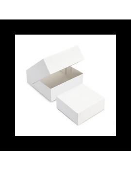 Boîte pâtissière blanche 16 cm