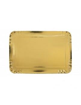 Plateau traiteur doré 42 cm...