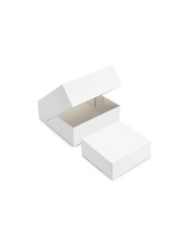 Boîte pâtissière blanche 32 cm