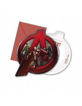 Invitations Avengers
