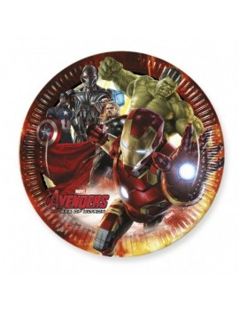 Assiettes Avengers grand...