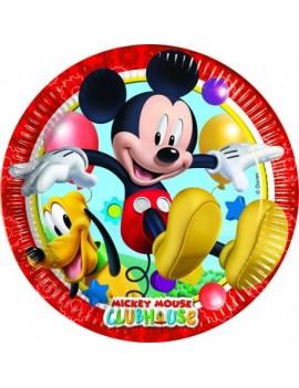 Assiettes Mickey grand format