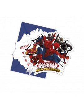 Invitations Spiderman