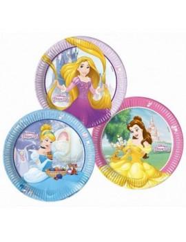 Assiettes Princesses Disney...